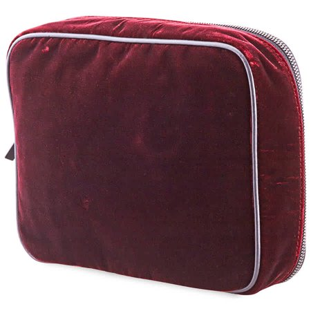 Emporio Armani Men's Sling Bag Velvet Clutch Clutch Black Man Made Handbags