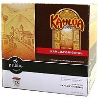Keurig Green Mountain 01800 K-Cup For Keurig Coffee Brewers, Kahlua, 18-Ct.
