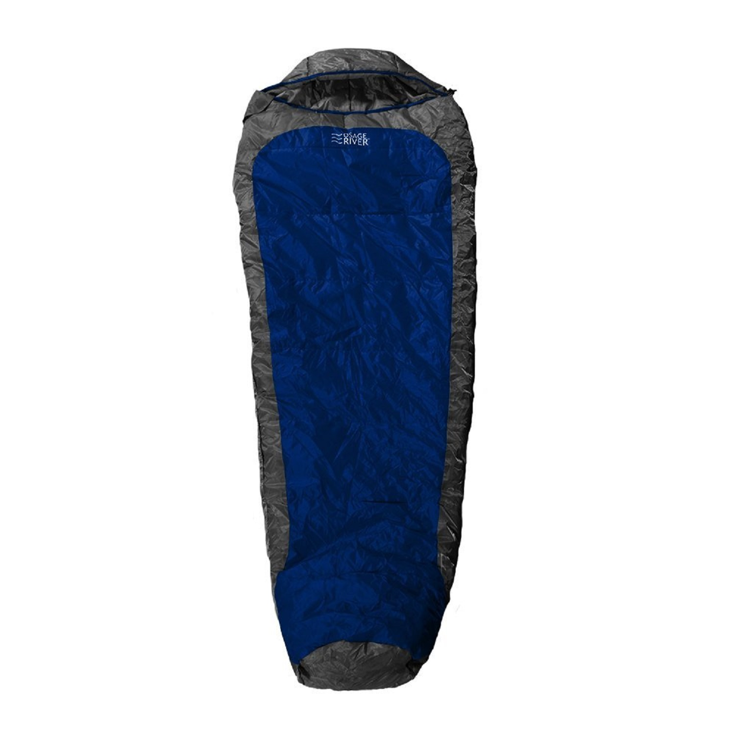 Osage River Zero Degree Sleeping Bag Blue Grey by Osage River