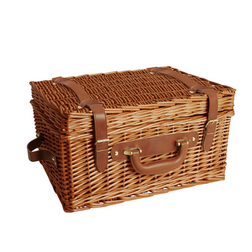 WaldImports Willow Picnic Basket