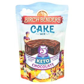 Birch Benders Keto Chocolate Cake Mix, 10.9oz