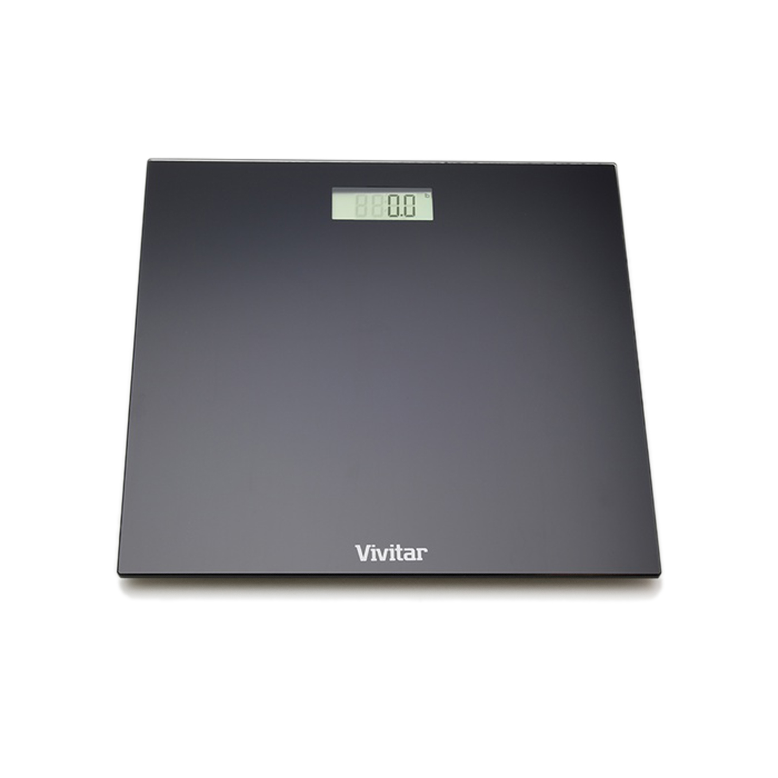 vivitar bodypro digital bathroom scale-black - walmart