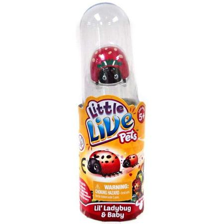 Little Live Pets Lil' Ladybug & Baby Strawberry Figure