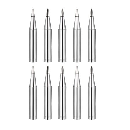 Soldering Iron Tips Flat Edge Replacement f Solder Station Tip 900M-T-0.8D 10pcs - image 2 of 2