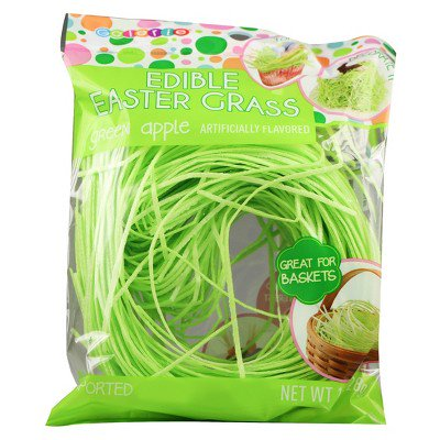 Galerie Easter Green Apple Edible Easter Grass - 1 oz - Paper Easter Grass