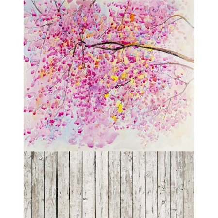 EREHome Polyester Fabric 5x7ft Floral Photography Backdrops Children Photography For Backdrop Girls Photo Backgrounds For Photo Studio - image 2 of 2