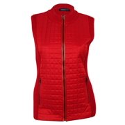 Jones New York Women's Quilted Knit Cotton Vest
