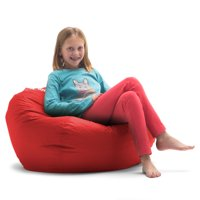 "98"" Big Joe Round Bean Bag Chair, Multiple Colors"