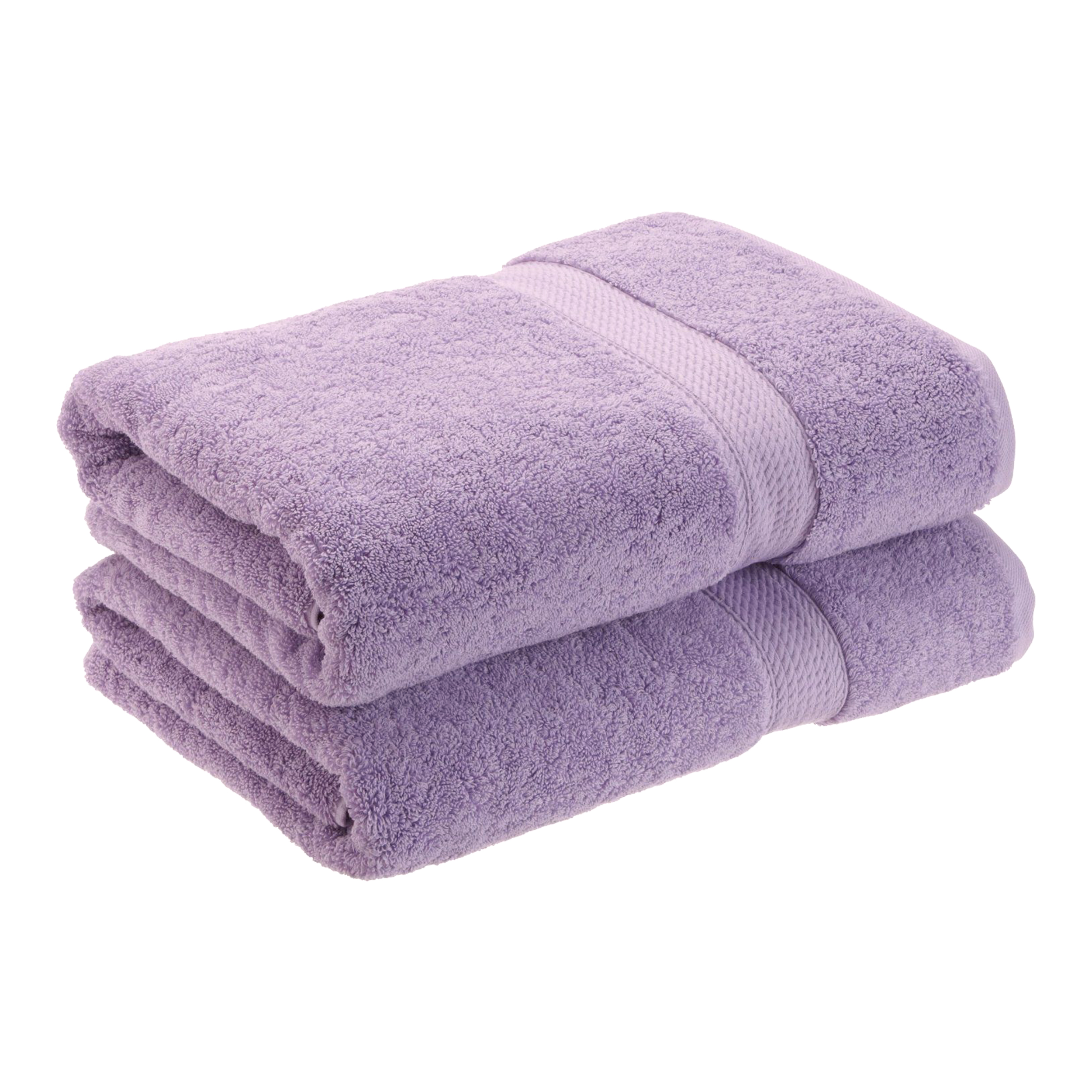 Superior 900GSM Egyptian Quality Cotton 2-Piece Bath Towel Set by Superior