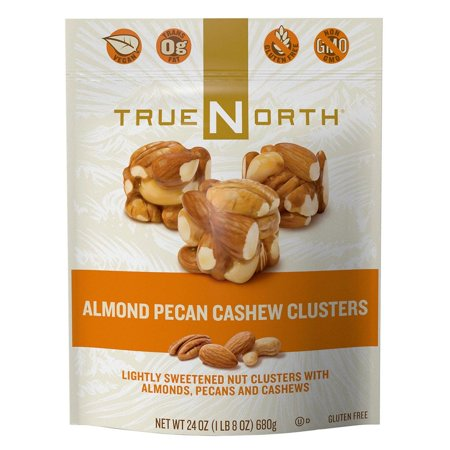 True North Almond Pecan Cashew Clusters (24 oz.) -Pack of 2
