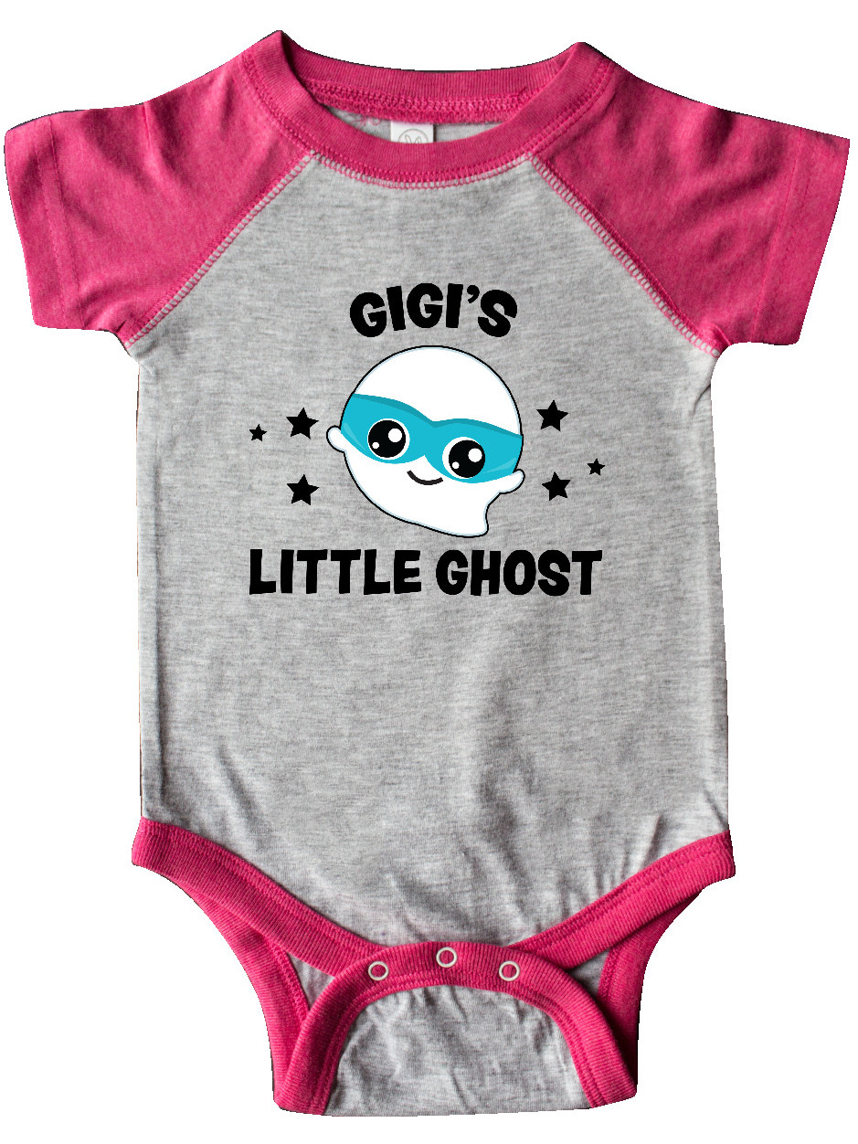 inktastic Cute Gigis Little Ghost with Stars Baby T-Shirt