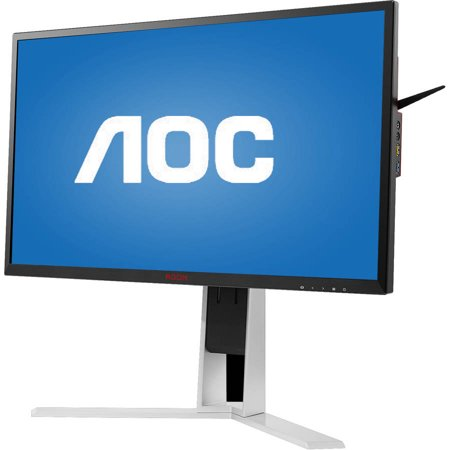 "AOC Agon Series 27"" LED LCD Widescreen Gaming Monitor with NVIDIA G-SYNC (AG271QG Black) by AOC"