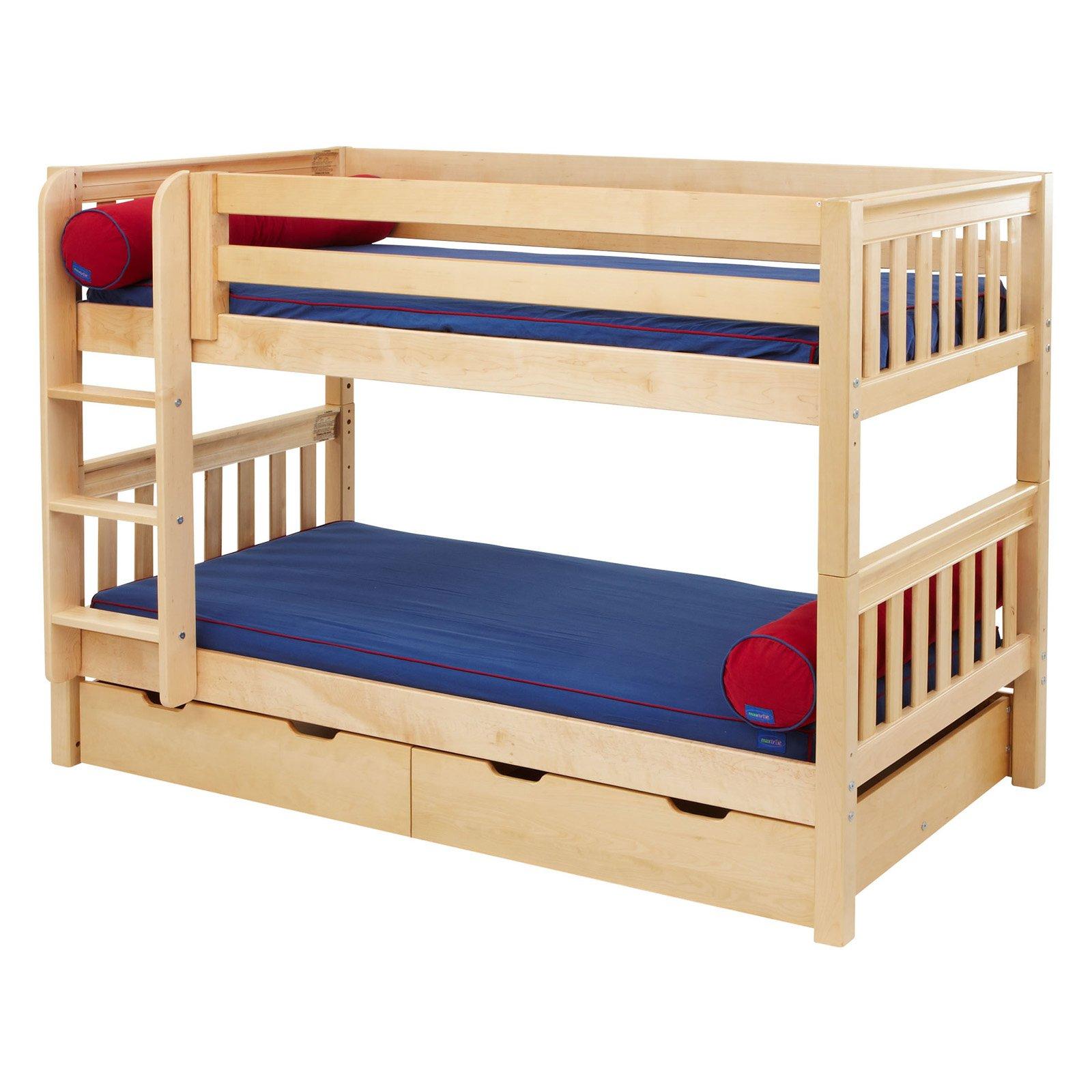 Hot Shot Twin over Twin Slat Bunk Bed