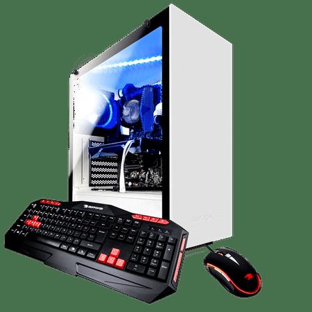 iBUYPOWER ARCW039i - Gaming Desktop PC - Intel i7 8700 - 8GB DDR4 Memory - NVIDIA GeForce GTX 1050Ti 4GB - 1TB Hard Drive - Wi-Fi - RGB (Monitor not (Rgb Computer Monitors)