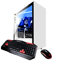 iBUYPOWER ARCW039i - Gaming Desktop PC - Intel i7 8700 - 8GB DDR4 Memory - NVIDIA GeForce GTX 1050Ti 4GB - 1TB Hard Drive - Wi-Fi - RGB (Monitor not Included)