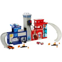 Deals on Matchbox Real Adventure Rescue Headquarters Playset
