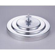 Christian Brands Church Supply KC163 Polished Aluminum Communion Tray Cover