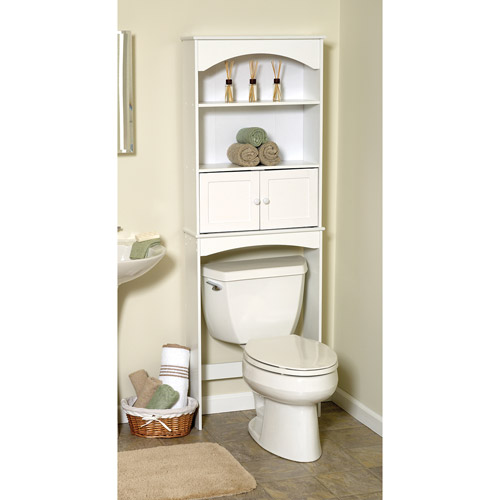 Mainstays 2 Door Spacesaver  White