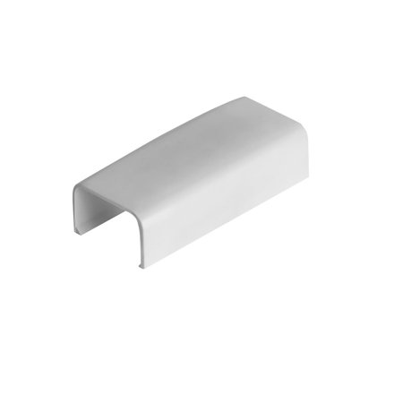 CMPLE Wire Trak Joint Cover for Raceway PVC White, 3/4