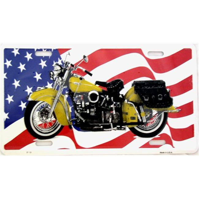 LP - 308 Indian Motorcycle License Plate - 2113
