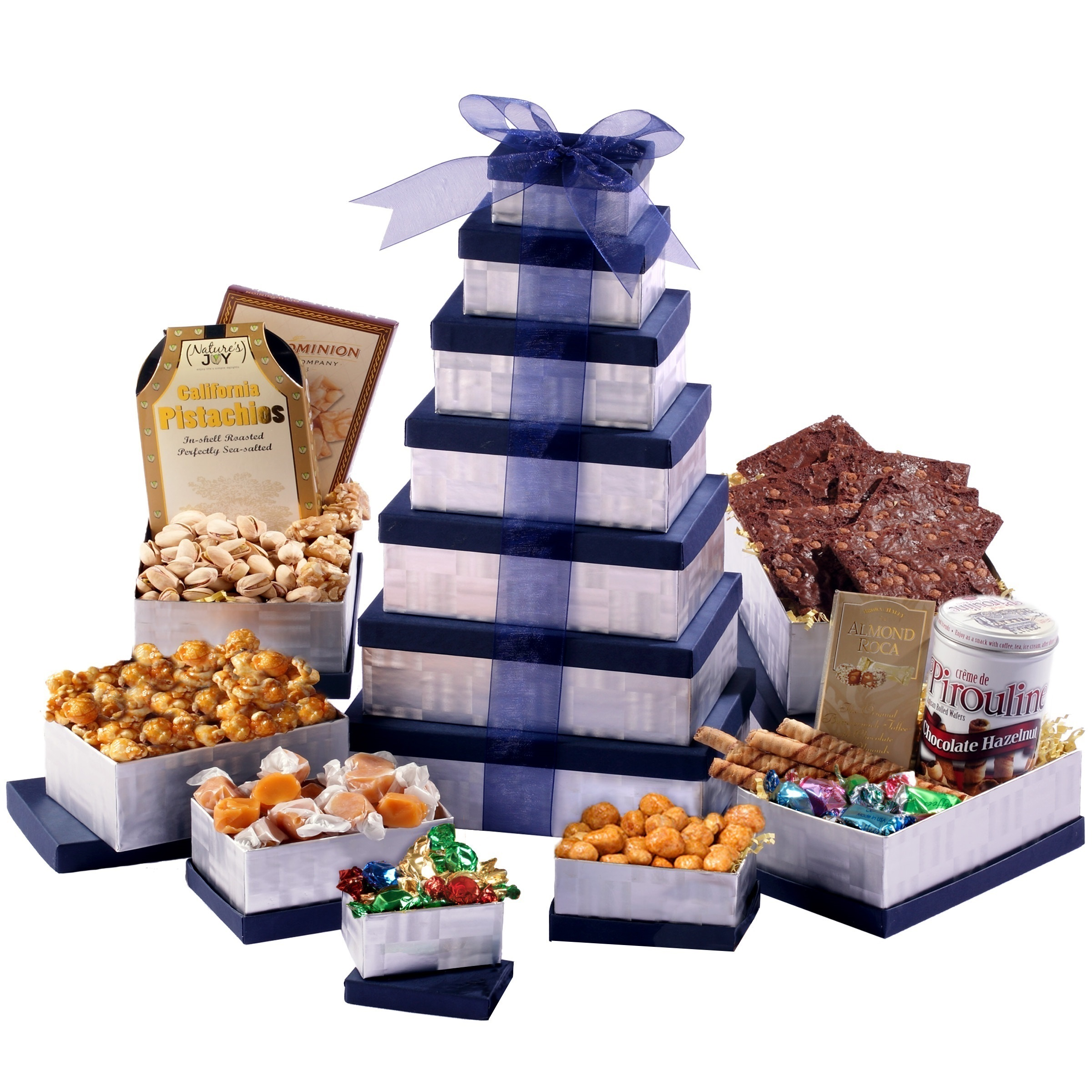 Broadway Basketeers Any Occasion Thinking of You Gift Basket Tower