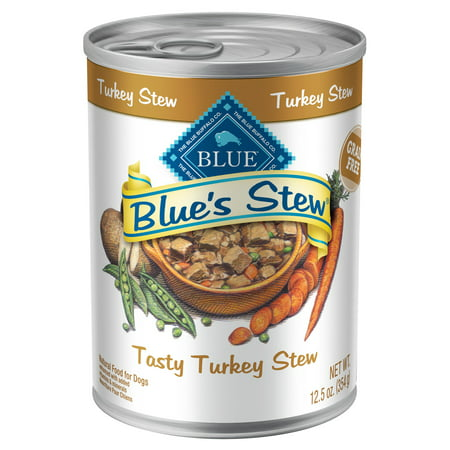 Blue Buffalo Blue's Stew Grain-Free Tasty Turkey Recipe Wet Dog Food, 12.5-oz, Case of