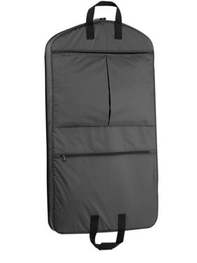 85d0d3e9cb57 Product Image Garment Bag w 2 Pockets in Black (40 in.)