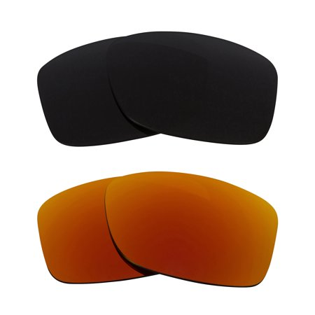 237cbd175a Seek Optics - JUPITER SQUARED Replacement Lenses Polarized Grey   Ruby Red  by SEEK fits OAKLEY - Walmart.com