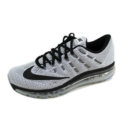 wholesale dealer 9f1d1 11ebe Nike - Nike Men s Air Max 2016 White Black 806771-101 - Walmart.com