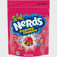 Nerds Gummy Clusters Candy Stand Up Bag, 8oz