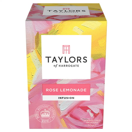 Taylors of Harrogate, Rose Lemonade Infusion, Tea Bags, 20 (Famille Rose Tea)