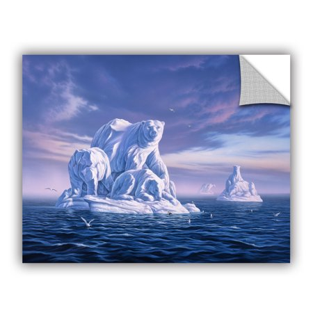 Iceberg Removable Wall Art Mural 18x24