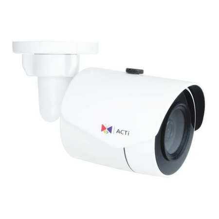 ACTI E38 IP Camera,Outdoor,Bullet,5-49/64