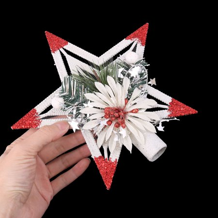 Party Plastic Star Shaped Handmade DIY Christmas Tree Hanging Ornaments 3 Pcs - image 1 of 3