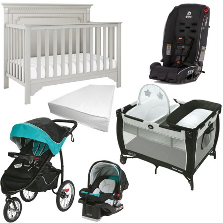 Bebelelo - 6-Piece Nursery Furniture & Graco/Diono Baby Gear Set - image 1 of 1
