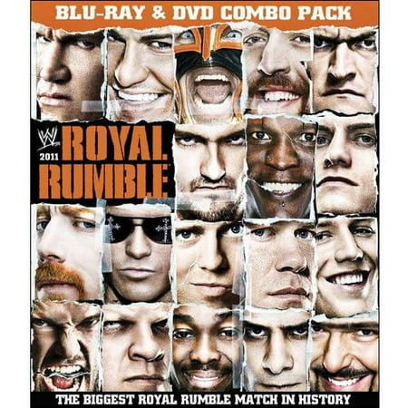 WWE: Royal Rumble 2011 (Blu-ray + Standard DVD) (Full (John Cena Vs Randy Orton Royal Rumble 2014)