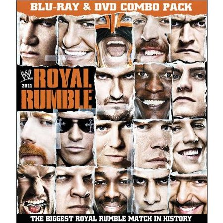 WWE: Royal Rumble 2011 (Blu-ray + Standard DVD) (Full Frame)
