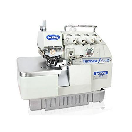 TechSew 40 40Thread Serger Overlock Industrial Sewing Machine With Classy 5 Thread Overlock Industrial Sewing Machine