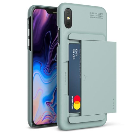 Apple iPhone XR Case Leather Wallet Cover by VRS Design Layered Dandy Series,