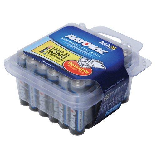 Rayovac AAA Alkaline Batteries, 36pk