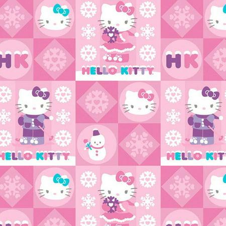 Hello Kitty Christmas Gift Wrap Walmart Com