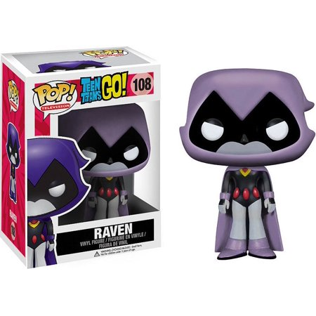 Teen Titans Funko POP! Television Raven Vinyl Figure [Grey]
