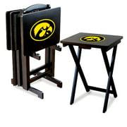Imperial NCAA Folding TV Tray Set - University of Iowa