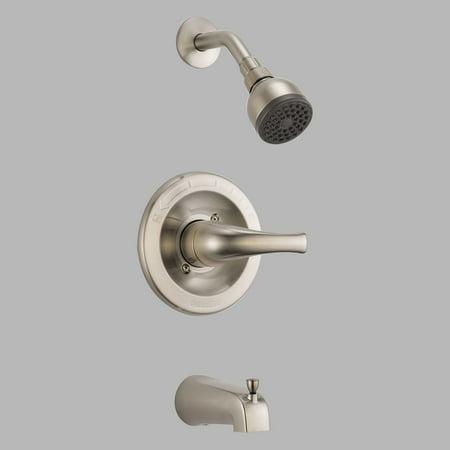 Peerless Choice PTT188773 Tub And Shower Faucet Set Brushed Nickel Walmar