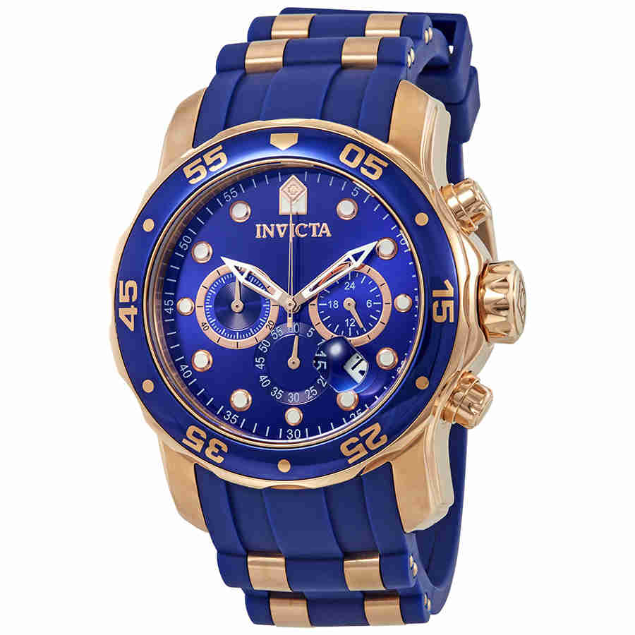 Invicta Pro Diver Chronograph Blue Dial Mens Watch 18197