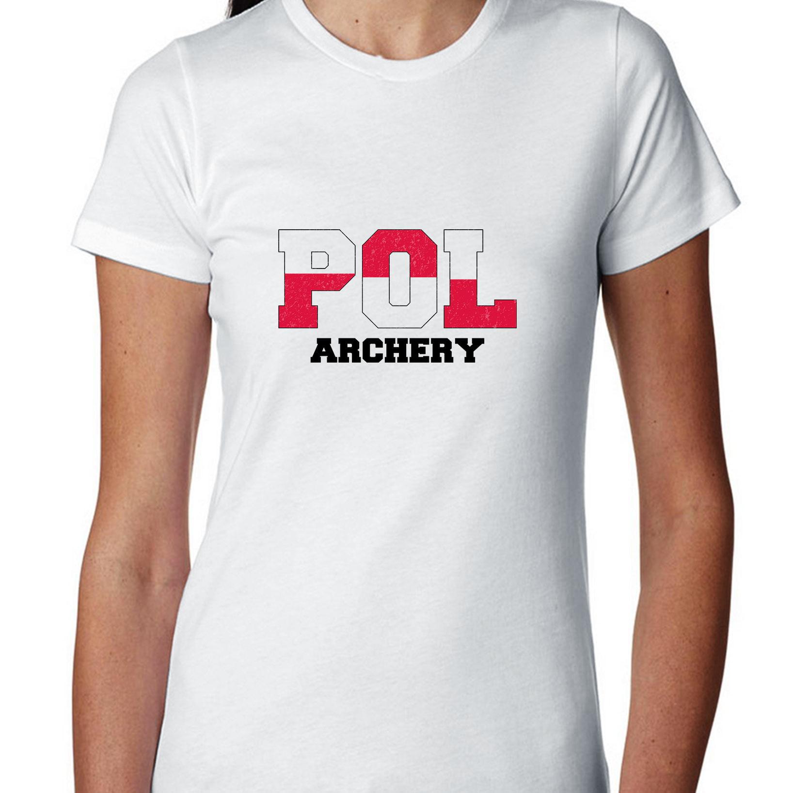 Poland- Olympic Games - Rio - Flag Women's Cotton T-Shirt