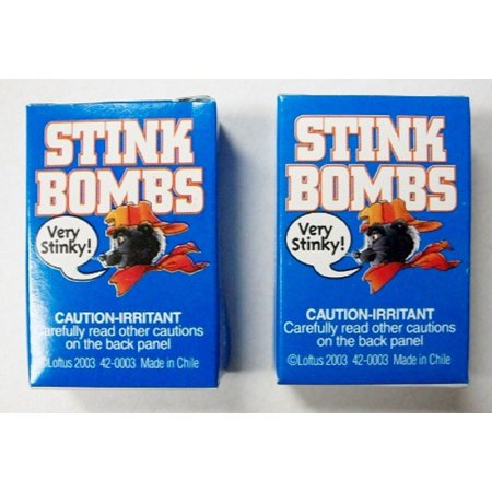 Stink Bombs Glass Viles Smells Bad Rotten Egg Fart Joke Gag Gift Trick Prank 6pk - Jokes And Gags Toys