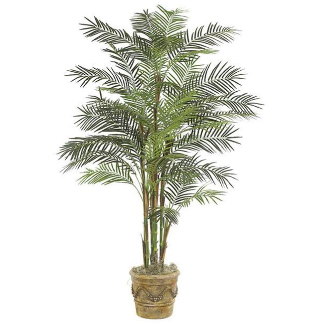 Autograph Foliages P-3772 - 7 Foot Deluxe Reed Palm Tree - Green
