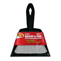 CLEAN RITE BLAZER INTERNATIONAL Broom & Dust Pan, 6 x 7-In. by TIGER ACCESSORY GROUP