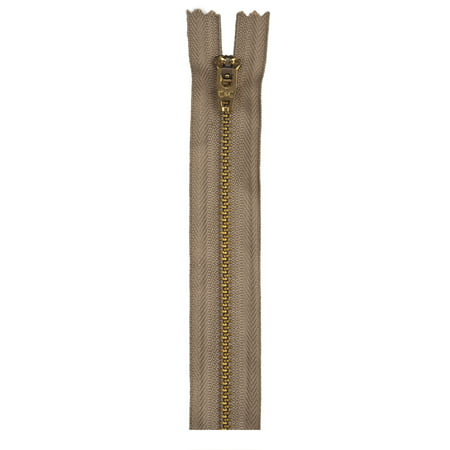 "Coats 36"" Extra-Long Metal Zipper, 1 Each"